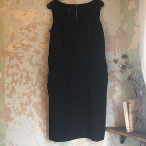 Alfani Black Stretch Dress with Pockets